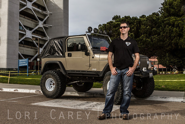 Mark Schultz of 4 Wheel To Heal with his Jeep