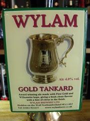Wylam, Gold Tankard, England