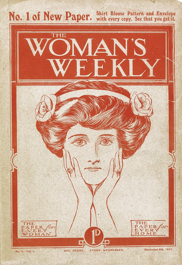 Pioneering: Woman's Weekly was first published on November 4, 1911 - and cost just a penny