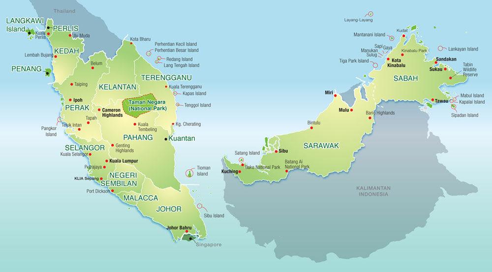 Resultado de imagem para malásia