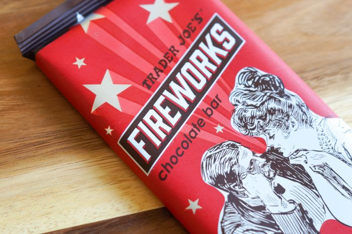 trader joe's fireworks chocolate bar review : part of a weekly #traderjoes review series