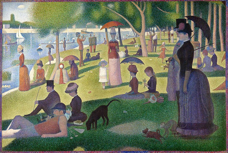 File:A Sunday on La Grande Jatte, Georges Seurat, 1884.jpg