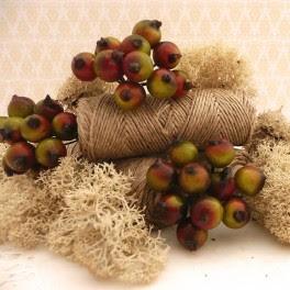 Owoce głogu czerwono-zielone