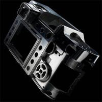 The Panasonic L1's lightweight chassis