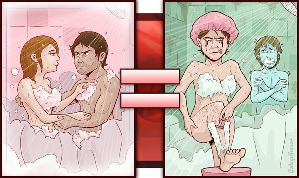 Filmes pornô vs. realidade