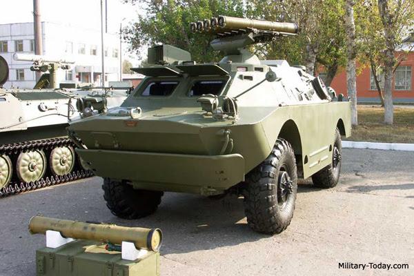 9P148 portador de misiles antitanque