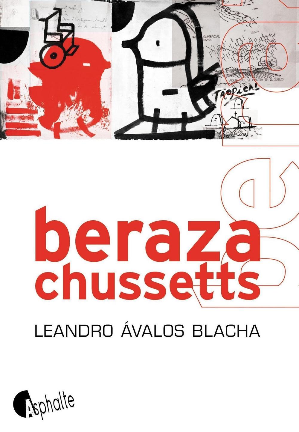 Berazachussetts de Leandro Avalos Blacha éditions asphalte