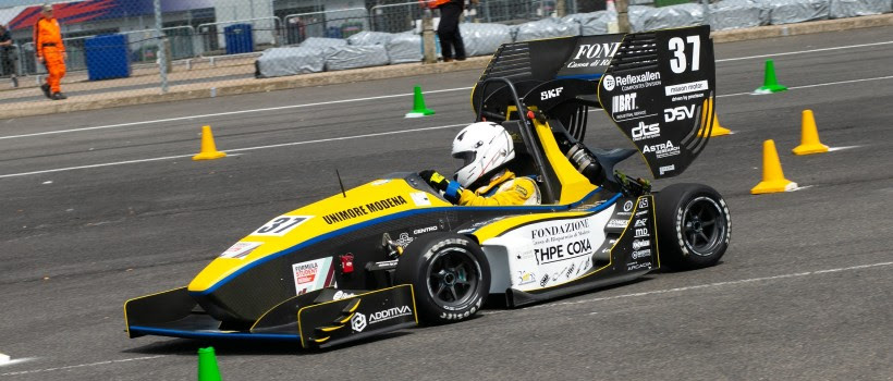 CORRECTED - Italy's University of Modena wins Formula Student 2019 competition at Silverstone