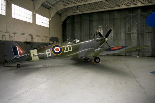 G-ASJV spitfire