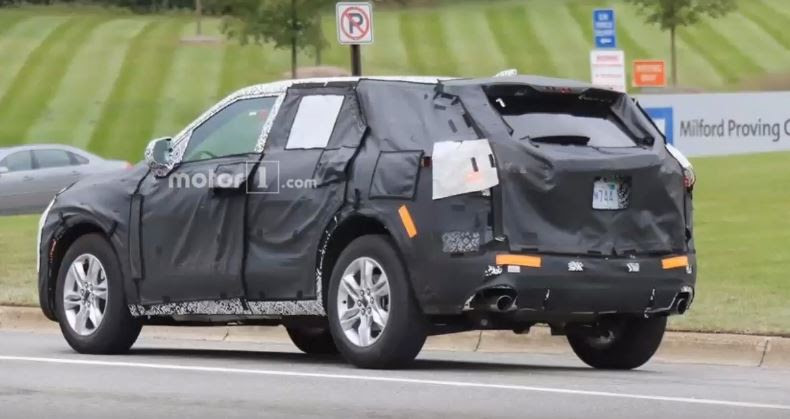 2019 Chevy Blazer Spy Shots The News Wheel