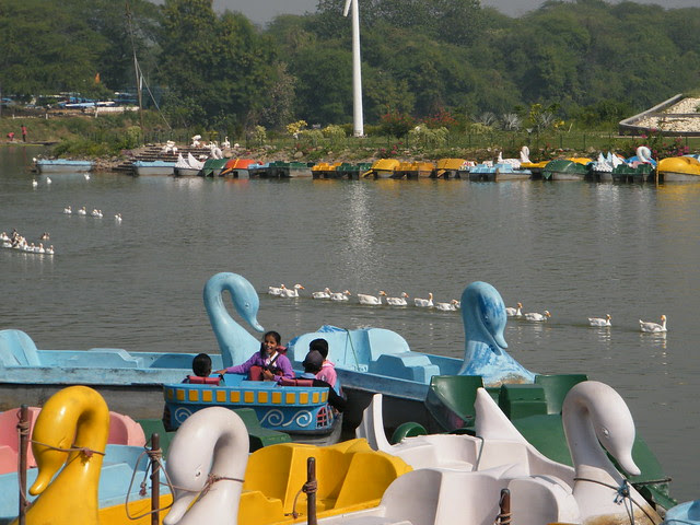 Sukhna Lake in Chandigarh