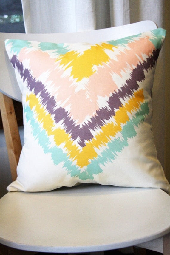 Aztec Removable Throw Pillow Cover 16 x 16