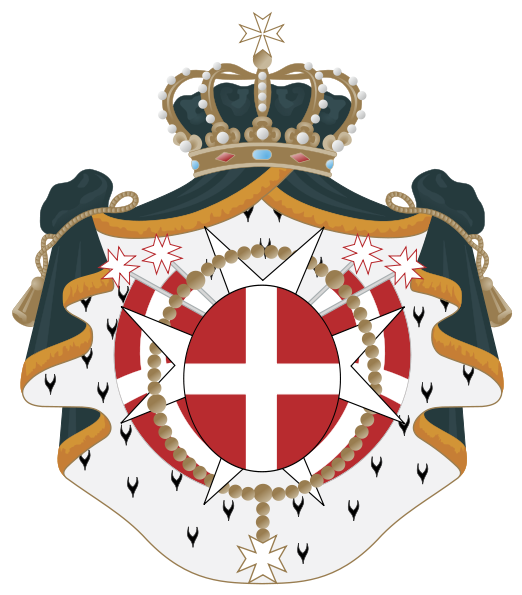 Archivo:Coat of Arms of the Sovereign Military Order of Malta.svg