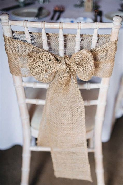 Best 25  Burlap chair ideas on Pinterest   Burlap chair