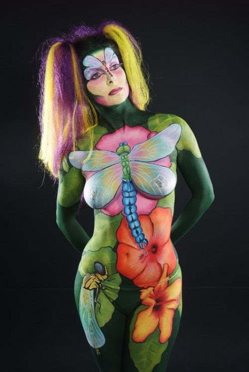 Body Dragonfly Paint Models