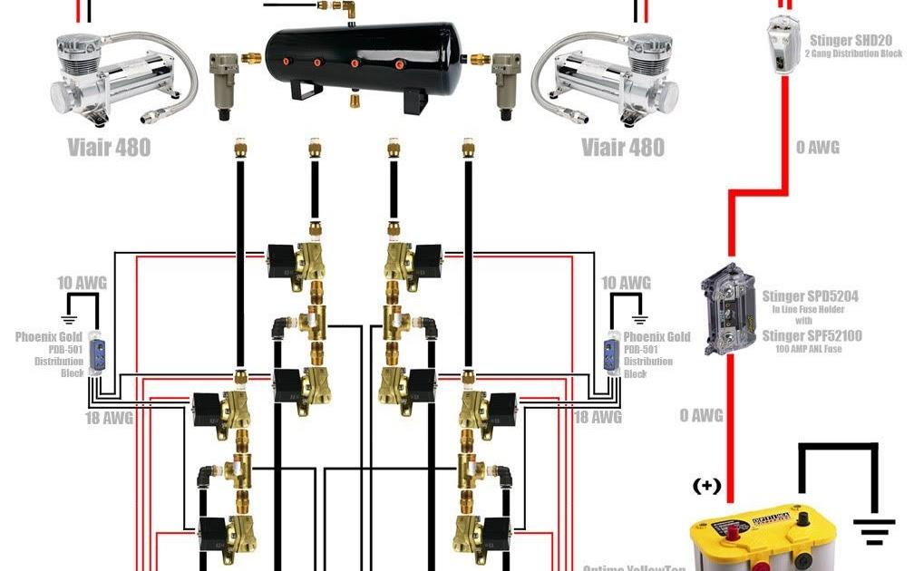 Air Lift Suspension Wiring Diagram