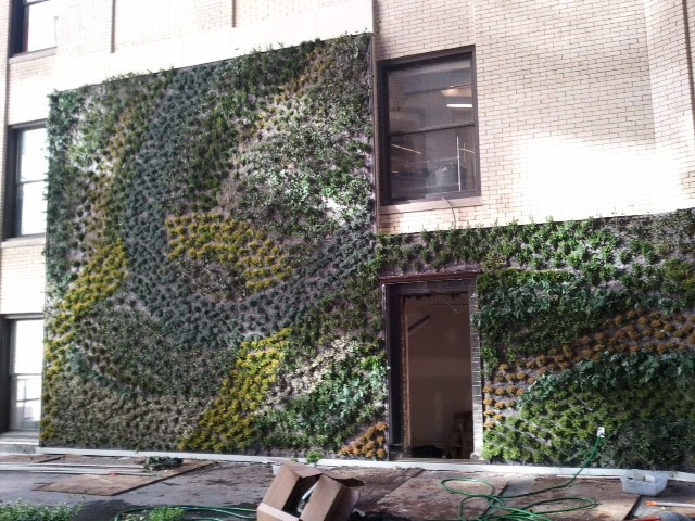 Detroit Source One Living Wall - modern - outdoor planters