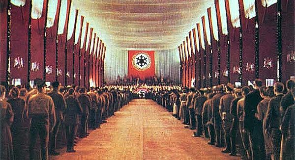 Nazi snowflake flag