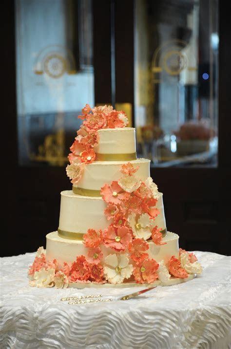 Posh Coral Wedding   Henry   Rosa   The Pink Bride