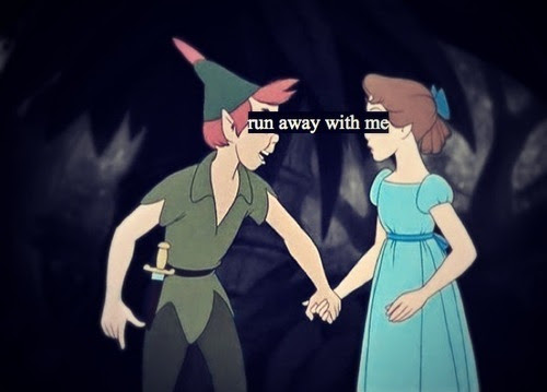 Love Disney Peter Pan Neverland Forever Young Tinkerbell Wendy Pixie