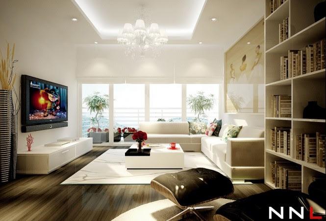 Modern Sophisticated Living Room Interior Design of ...