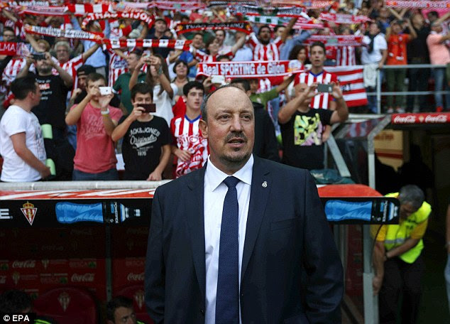 Rafa Benitez's reign as Real Madrid manager got off to a disappointing start in La Liga following the draw