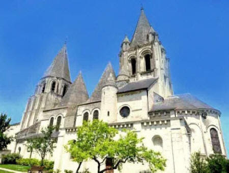 Saint Oars church in Loches