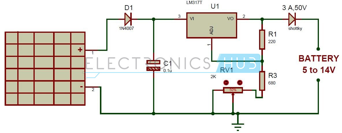 Solar Battery Charger Circuit Diagram Pdf Circuit Diagram Images