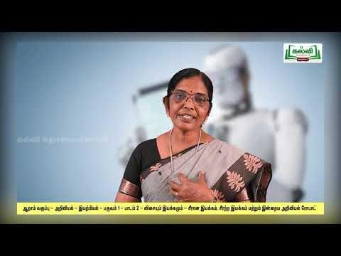 6th Science பருவம் 1 பாடம் 2 விசையும் இயக்கமும் Kalvi TV