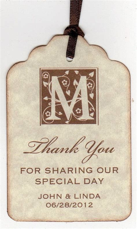 1000  ideas about Wedding Favor Tags on Pinterest   Free
