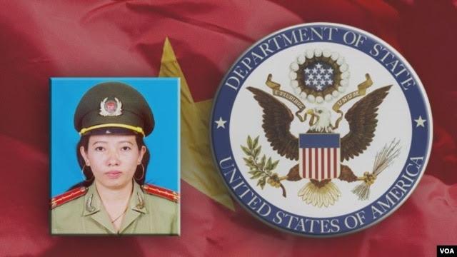 Nhà hoạt động Tạ Phong Tần là một trong hai nữ tù nhân lương tâm được Bộ Ngoại giao Mỹ vinh danh.
