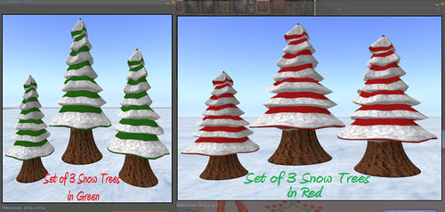 69L Wednesday Tree House Treasures snow trees