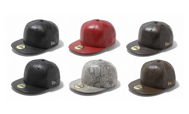 new era japan leather fitteds New Era Japan Leather Fitteds