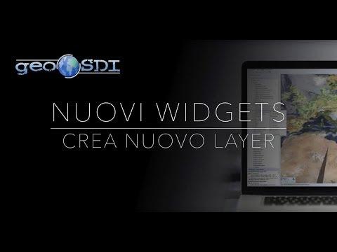Nuovi Widgets: Crea Layer