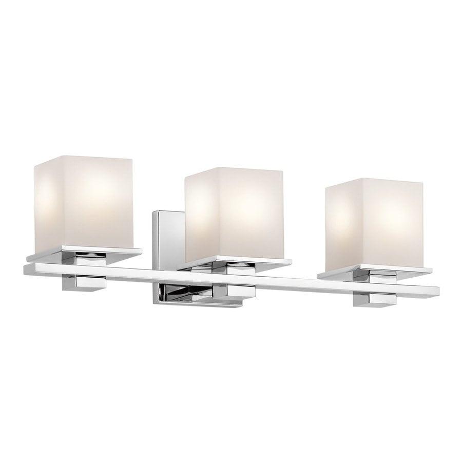 Shop Kichler Lighting 3-Light Tully Chrome Transitional ...