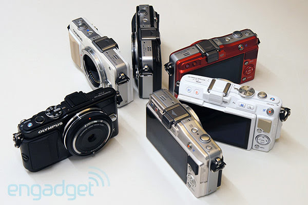 Olympus EPL5 and EPM2 Micro Four Thirds cameras with OMDlike focusing, performance boosts handson