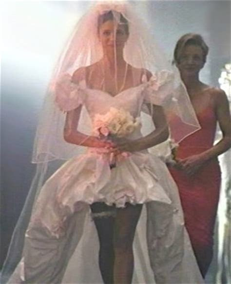 slutty wedding dress from November Rain video
