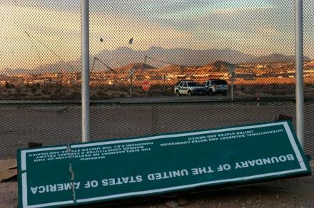 La colonia Anapra, al oeste de Juárez y a unos ocho kilómetros de la frontera con Texas, Estados Unidos. Foto: Ricardo Ruíz