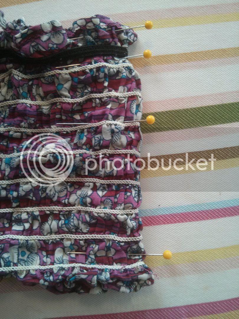 Women's dress to girl's maxi dress refashion