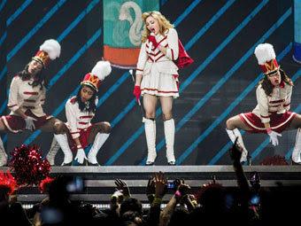 Концерт Мадонны в Санкт-Петербурге. Фото Коммерсантъ, Кирилл Беляев