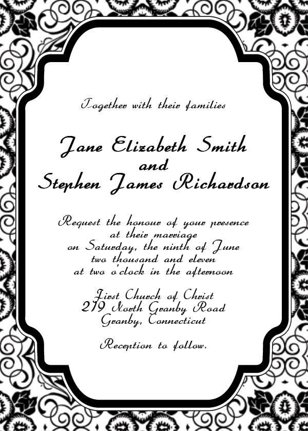 Free Printable Invitation Templates   maaritinliikuntahyvinvointi.com