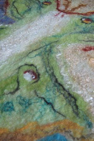 Series of videos for basic wet felting, nuno felting, resist felting, plus tips and tricks. See video list to the left.