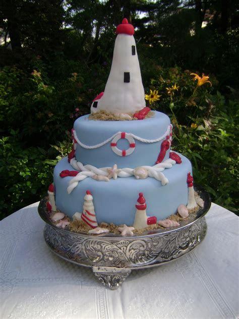 Lighthouse Cake   CakeCentral.com