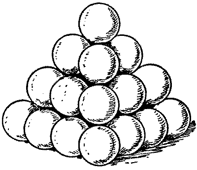 Stack of Cannonballs