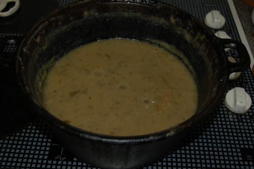 potato and lovage soup Aug 13