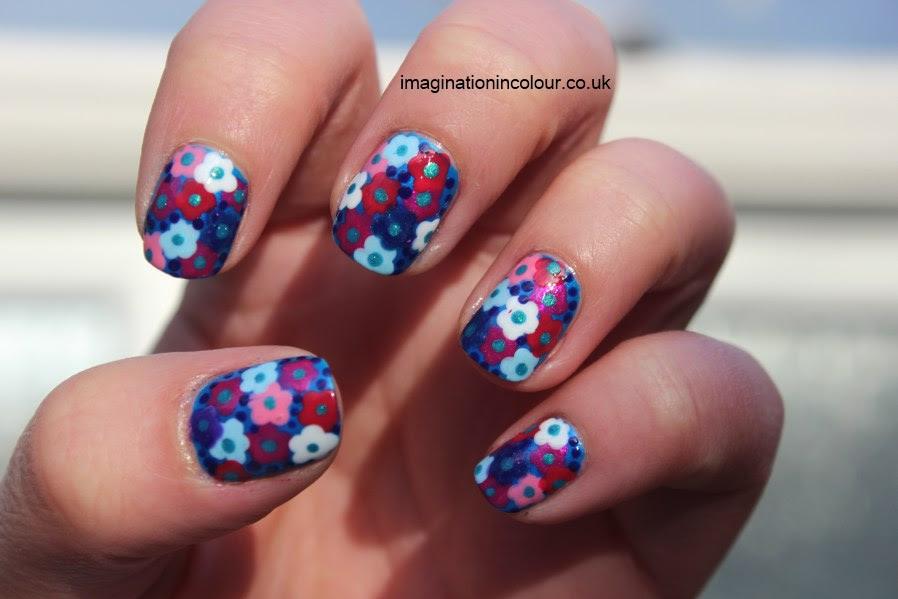 Nail Designs Purple And White - Nail Arts