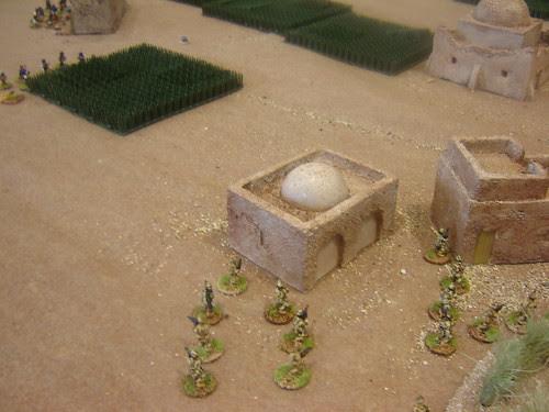 British move towards landing zone