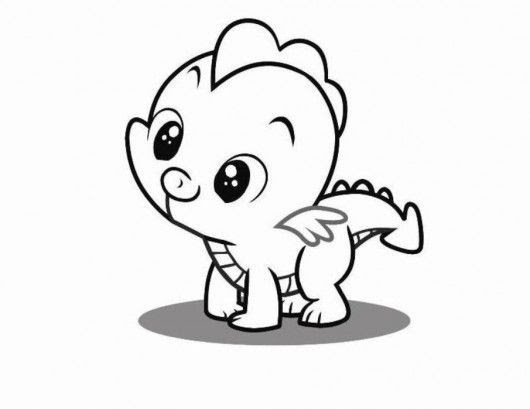 Baby Dinosaur Coloring Pages Coloring And Drawing