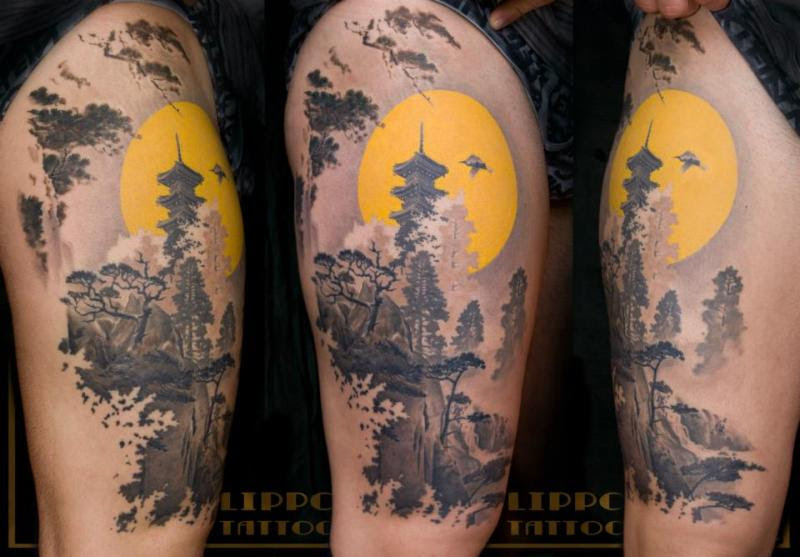 Half Sleeve Traditional Japanese Tattoo Design Tattoos Book