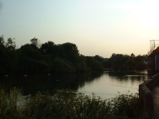 File:River Itchen at Woodmill - geograph.org.uk - 26915.jpg